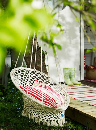 hammock, papasan lounch