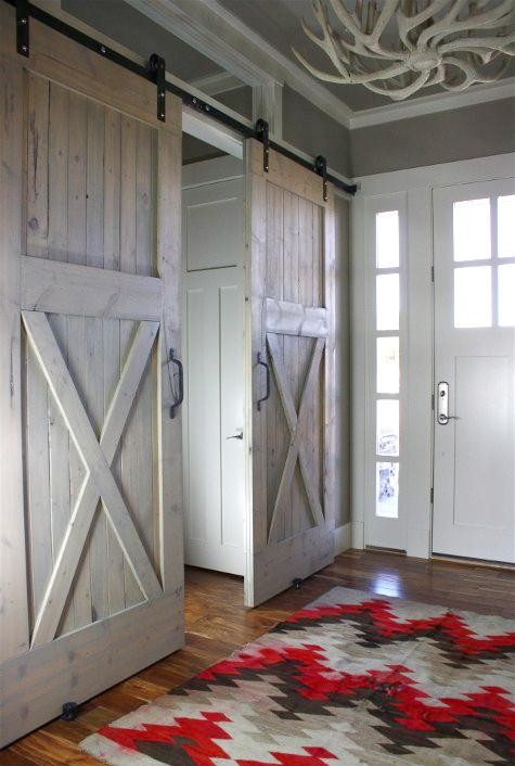 beautiful old doors, home decor ideas, rustic homes, country homes, bohemian homes