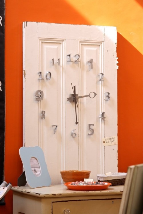 old door clock