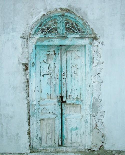 Old Door Aqua