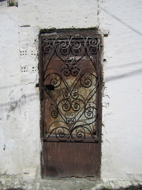 old doors, bohemian home decor