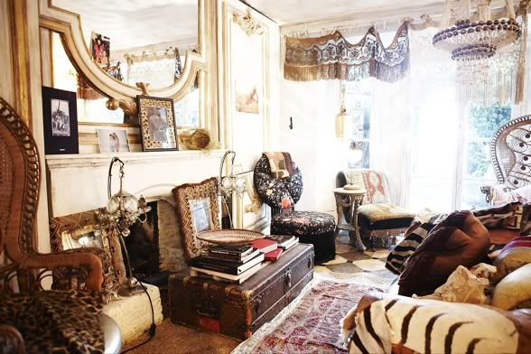 Bohemian Home Decor Pretty Spaces